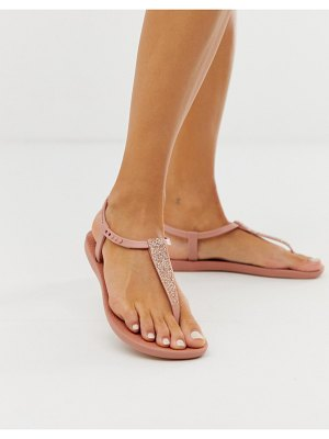 Ipanema pop glitter flat sandals