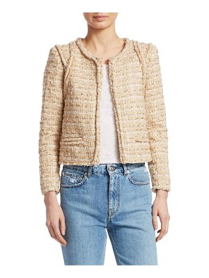IRO disco cropped jacket