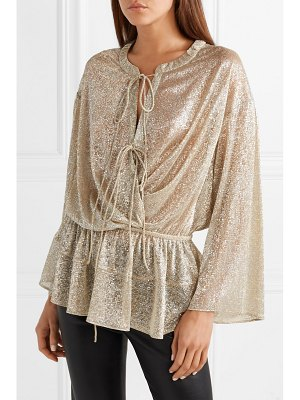 IRO lurex blouse