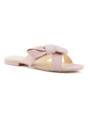 Isa Tapia Natalia Suede Bow Sandals