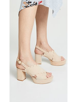 Isa Tapia perry platform sandals