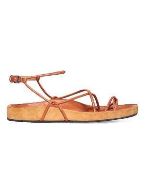 Isabel Marant 10mm enador lace-up thong sandals