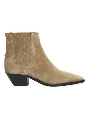 Isabel Marant 40mm derlyn suede cowboy boots