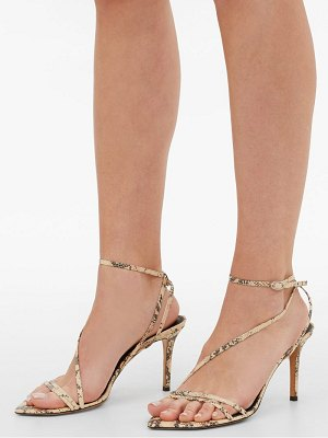 Isabel Marant axee python-effect leather sandals