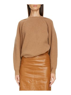 Isabel Marant balloon sleeve wool & cashmere sweater