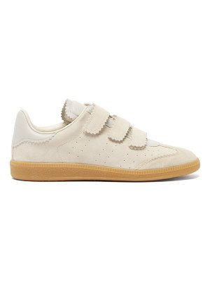 Isabel Marant beth velcro-strap suede trainers