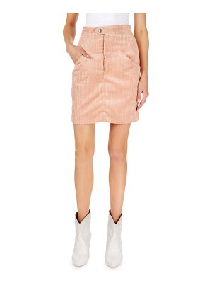Isabel Marant Corduroy Pencil Mini Skirt