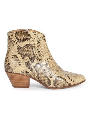 Isabel Marant dacken leather boots