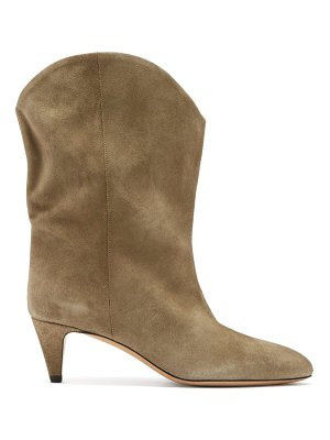 Isabel Marant dernee point-toe suede ankle boots