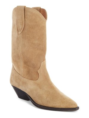 Isabel Marant duerto western suede boot