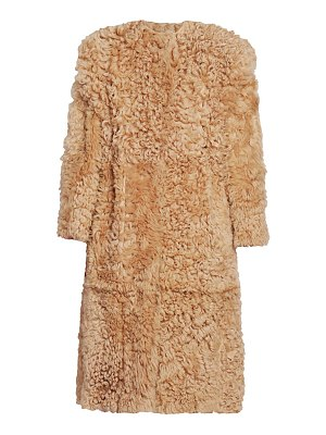 Isabel Marant geltonia long lamb shearling coat