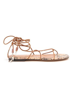 Isabel Marant jindia bead-embellished rope and leather sandals