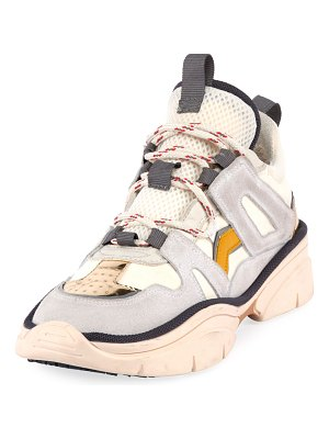 Isabel Marant Kindsay Thick Platform Hiker Sneakers