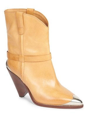 Isabel Marant lamsy leather mid-calf boots