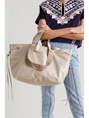 Isabel Marant wardy patent-leather tote