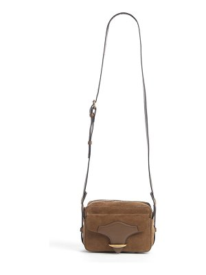 Isabel Marant wasy belted suede crossbody bag