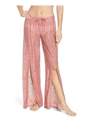 ISABELLA ROSE about lace cover-up pants