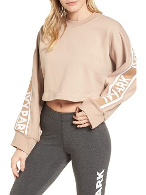 IVY PARK logo tape crop sweatshirt
