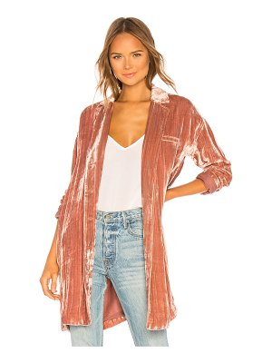 J Brand regan velvet duster