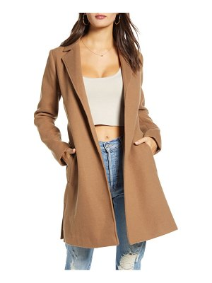Jack by bb dakota keep your secrets melton belted coat