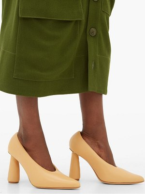 JACQUEMUS padded leather pumps