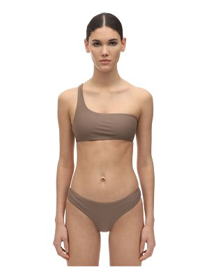 JADE Swim Apex one shoulder lycra bikini top