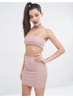 Jaded London Cut Out Festival Bodycon Dress