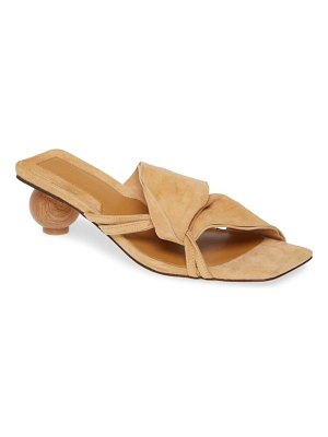 JAGGAR gathered slide sandal