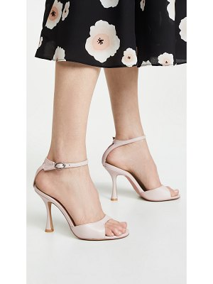 JAGGAR hourglass ankle strap sandals