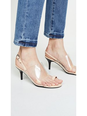 JAGGAR virtual toe ring sandals
