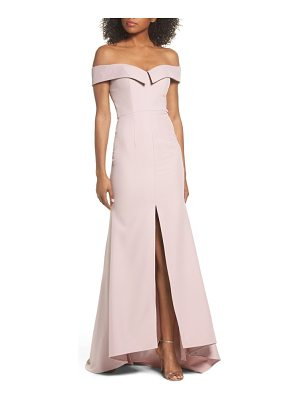 Jarlo autumn off the shoulder gown