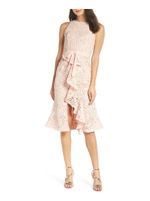 Jarlo dyani lace ruffle sheath