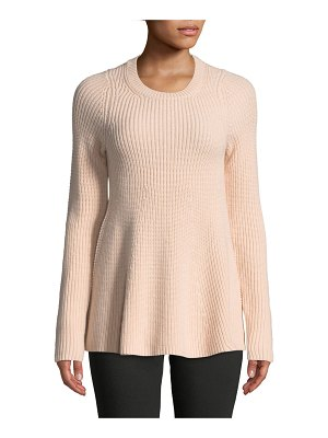 Jason Wu Grey Merino Wool Trapeze Sweater