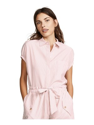 Jason Wu Grey striped button down shirt