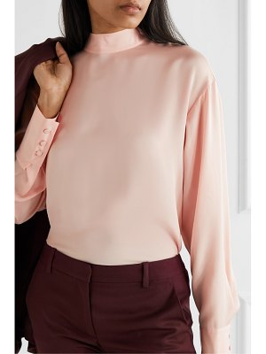 Jason Wu tie-detailed silk crepe de chine blouse
