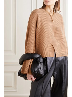 Jason Wu twisted ribbed cashmere sweater