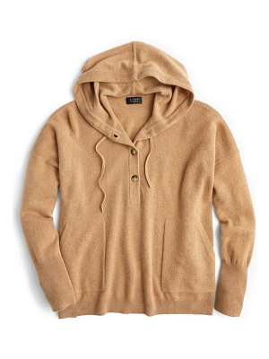 J.Crew everyday cashmere hoodie sweater