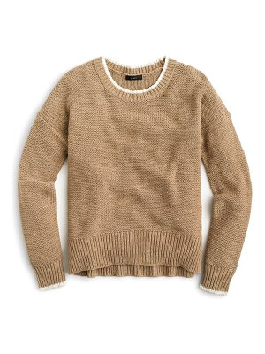 J.Crew tipped beach sweater