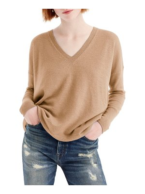 J.Crew v-neck boyfriend cashmere sweater