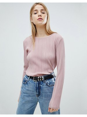 JDY ribbed long sleeve t-shirt