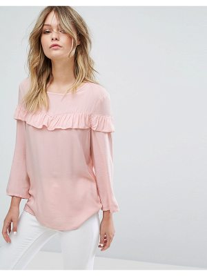 JDY Laura Frill Front Blouse