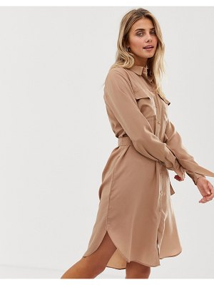 JDY utility belted shirt dress