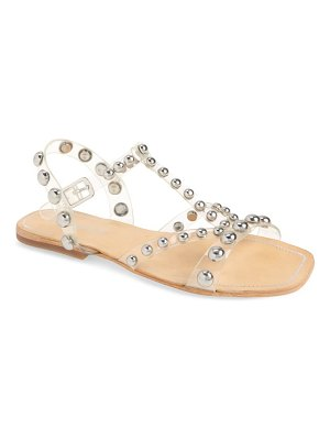 Jeffrey Campbell amaryl studded clear sandal