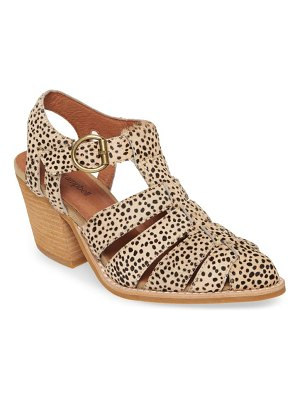 Jeffrey Campbell angora genuine calf hair sandal