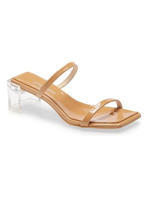 Jeffrey Campbell epoxy slide sandal
