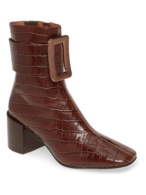 Jeffrey Campbell godard colorblock buckle boot