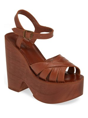 Jeffrey Campbell havens platform wedge sandal