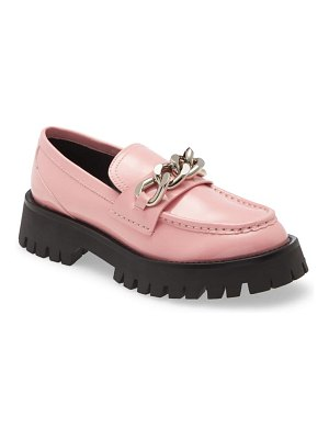 Jeffrey Campbell recess chain platform loafer