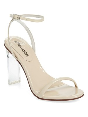 Jeffrey Campbell vaccine clear heel sandal