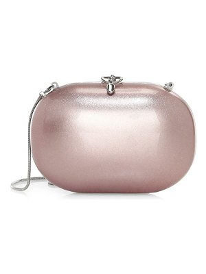 Jeffrey Levinson elina gloss aerospace aluminum clutch